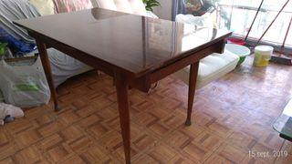mesa comedor madera grande 144x80x76cm