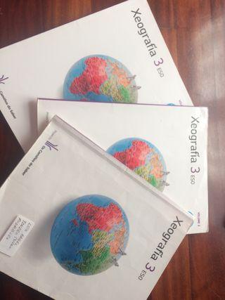 Libros de texto xeografia 3eso