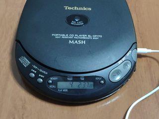 discman technics portable sl-xp170 CD player