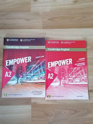 Libros A2 EOI, Ingles