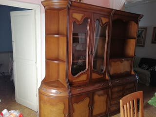 mueble modular vitrina cajonera esquineros y bar
