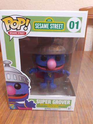 super grover funko pop