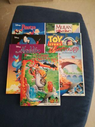 Libros Disney. Catalan e ingles.