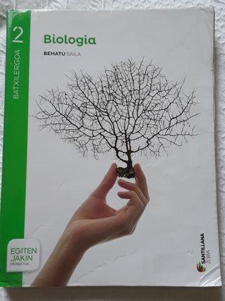 Libro Biologia 2 Bachillerato (en Euskera)