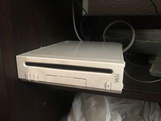 Wii y lote de productos de wii