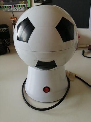 Palomitero con forma de pelota de fútbol