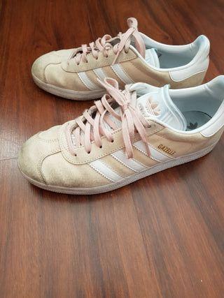 adidas gazelle rosa 40 2/3