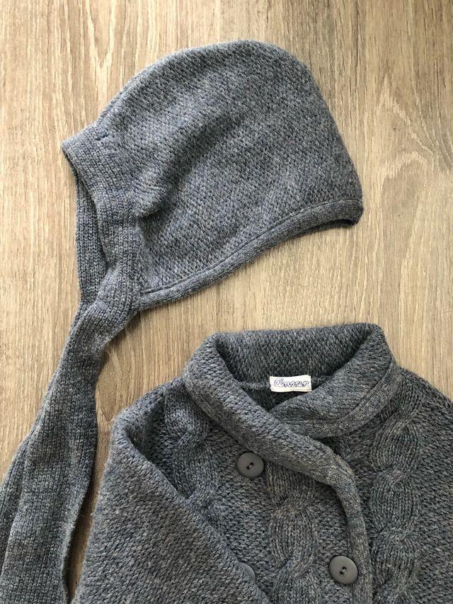 Abrigo lana niño