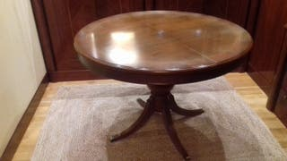 Mesa comedor madera cerezo
