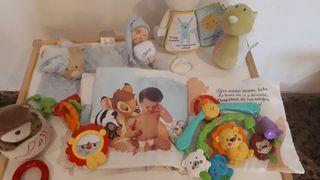 Colección juguetes recién nacido