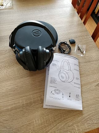 Auriculares noise-cancelling Audiotechnica