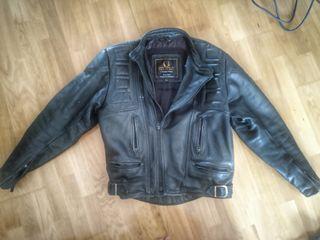 chaqueta cuero BELSTAFF moto/calle vintage antigua