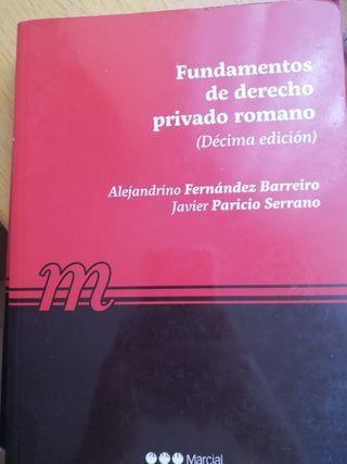 Fundamentos del Derecho Romano