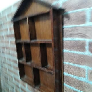 Casa madera antigua para colecciones o detalles