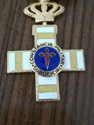 medalla militar de suboficial