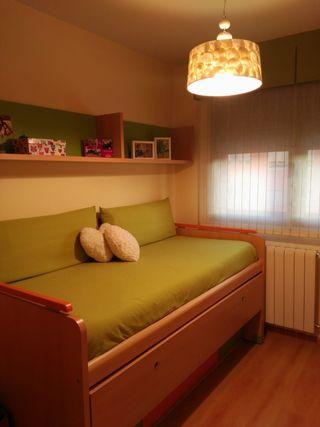 Habitación juvenil sin usar