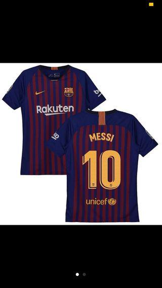 Camiseta FCB leo messi