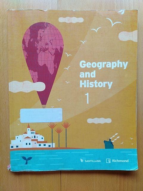 Libro de Geografía y Historia 1ESO (En Inglés)