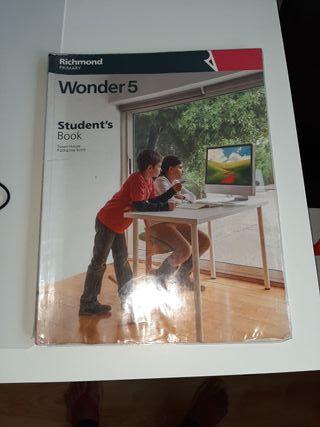 WONDER 5 STUDENT'S BOOK. RICHMOND