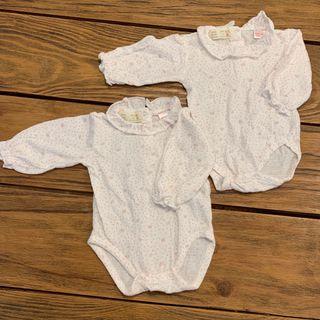 *Queda 1* Body vestir 0-1 mes cuello bebé