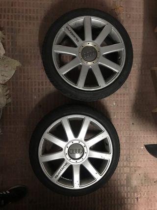 """Llantas estilo Old RS4 Originales 18"""""""