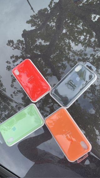 iPhone XR. Fundas. Protector 10€