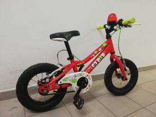 Bicicleta DTB 120 niñ@ con ruedines