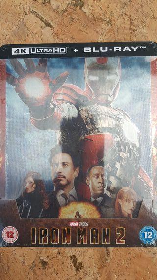 Iron Man 2 en Blu-ray