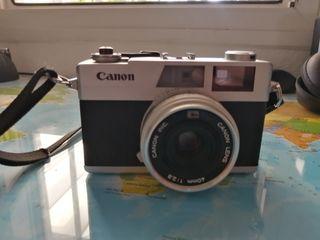Camaras de fotos, Canon y Konica