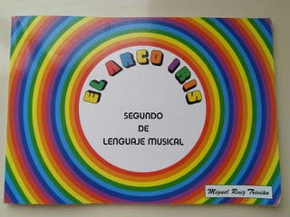 El arco iris (2º de lenguaje musical)