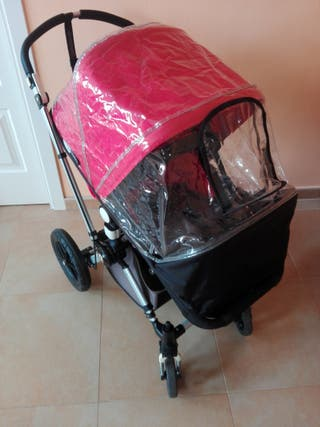Conjunto carro y capazo Bugaboo con ruedas repuest