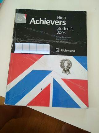 Libro de inglés HIGH ACHIEVERS A2