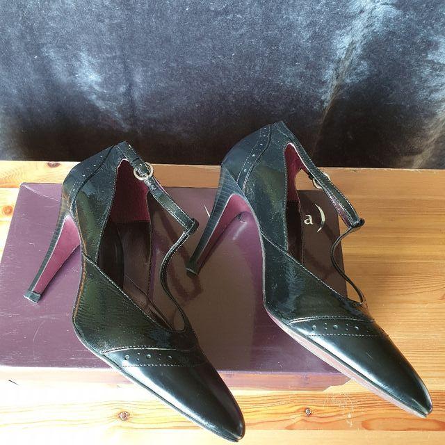 Zapatos Vicenza de piel,color negro,talla 41