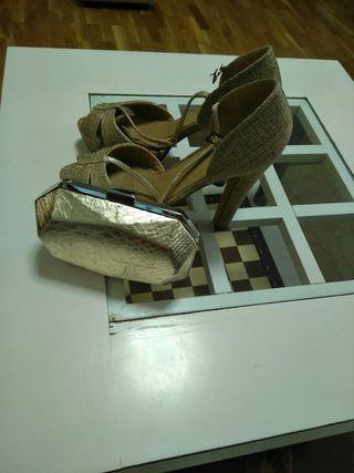 zapato y bolso a juego para boda, comunión o event