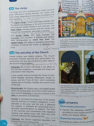 Libro de Geografía y Historia 2ESO (En Inglés)