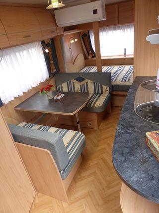Bürstner 3 ambientes aire acondicionado