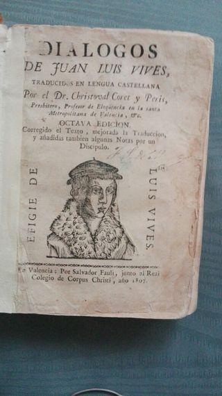 Diálogos de Juan Luis Vives, año 1807