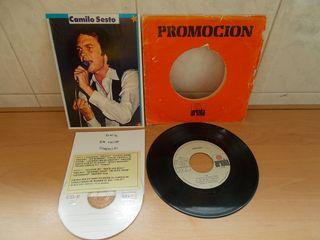 Camilo Sesto.Disco Vinilo + Regalazo de 1977