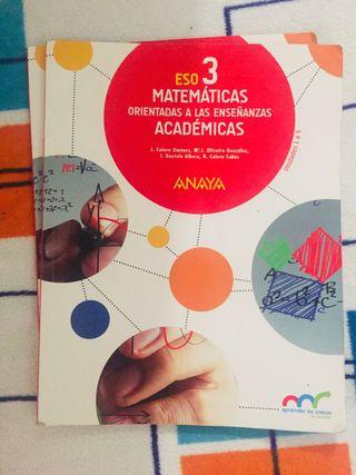 Matemáticas Académicas 3 trimestres
