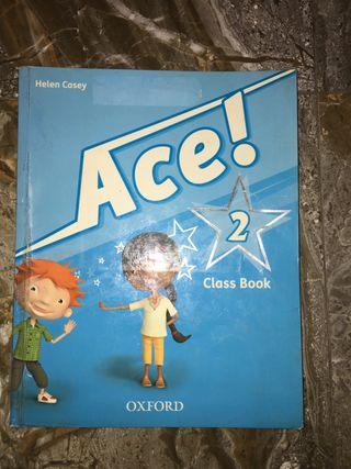 Libro de inglés ace Oxford 2 de primaria