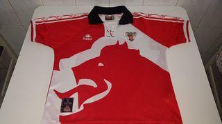 camiseta Athletic kappa centenario 1898-1998