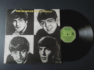 Disco de vinilo: The Beatles, early years