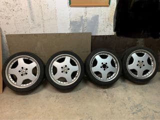 Llantas Mercedes Benz 18 pulgadas 5x112 AMG