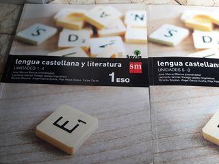 lengua castellano y literatura 1°ESO editorial sm