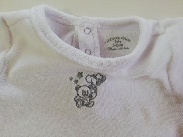 Pijama COTTON JUICE, talla 3-6 meses