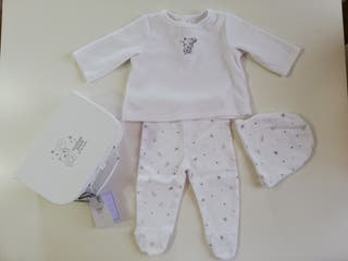 Pijama COTTON JUICE, talla 3-6 meses