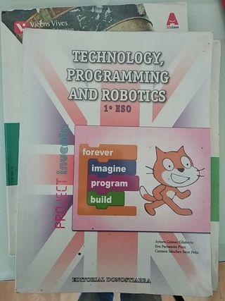 tecnología programación y robótica 1º de la ESO