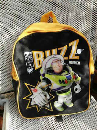 Mochila Buzz Lightyear. Sin usar