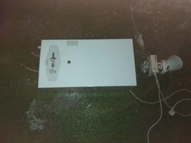 calentador de gas marca Neckar modelo WN 11 KE N