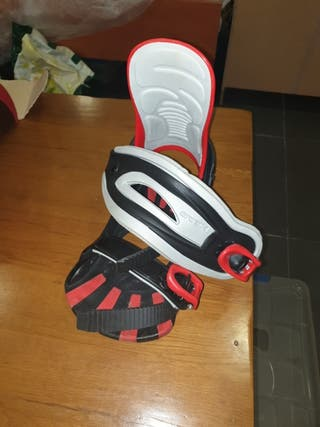 fijaciones de snowboard talla L